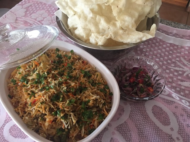 Mutton Pilaw Biryani