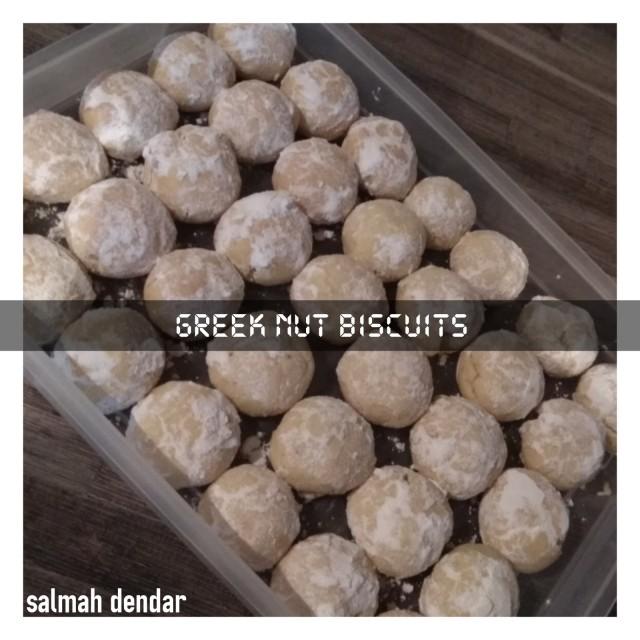 Greeknut Biscuits
