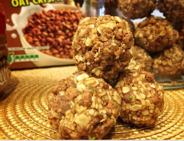 Peanut Butter Crunchie Balls